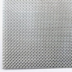 Stainless 1×30 Steel Woven Wire Mesh (filter grading sheet) Metal Silk to Heavy Gauze