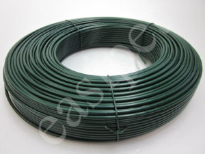 PVC Coated Tension Straining Line Wire Galvanised Steel 100m x 3.1mm Fencing