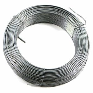 Tension Straining Line Wire Galvanised Steel 100m x 2.5mm Chain Link Fencing